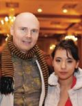 Billy Corgan and Chloe Mendel