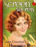 Nancy Carroll on the cover of Screen Secrets (United States) - March 1930