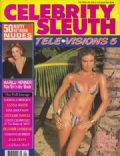 Tracy Scoggins on the cover of Celebrity Sleuth (United States) - November 1992