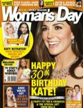 Angelina Jolie, Chris Cairns, Chris Cairns, Kate Middleton, Katy Perry, Katy Perry and Russell Brand, Russell Brand on the cover of Womans Day (New Zealand) - January 2012