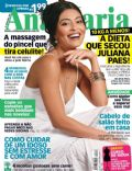 Juliana Paes on the cover of Ana Maria (Brazil) - October 2011