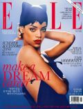 Rihanna on the cover of Elle (North Korea) - June 2013