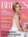 Julia Stiles on the cover of Brides (United States) - March 2004