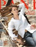 Justyna Pochanke on the cover of Pani (Poland) - July 2008