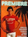 John Travolta on the cover of Premiere (France) - July 1979
