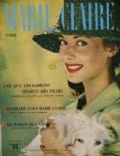 Pascale Audret on the cover of Marie Claire (France) - April 1959