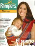 Laura Novoa on the cover of Para Ti Mama (Argentina) - July 2007