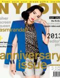 Asmirandah on the cover of Nylon (Indonesia) - January 2013