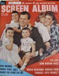 Pat Boone on the cover of Screen Album (United States) - November 1959