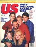 Justine Bateman, Meredith Baxter, Michael Gross, Michael J. Fox, Tina Yothers on the cover of Us Magazine (United States) - March 1987