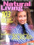 Rebecca Gayheart on the cover of Natural Living (United States) - November 1997