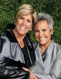 Suze Orman and Kathy Travis