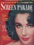 Elizabeth Taylor on the cover of Screen Parade (United States) - May 1959