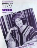Rita Hayworth on the cover of TV Week (United States) - January 1969