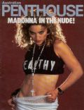 Madonna on the cover of Penthouse (Australia) - September 1985