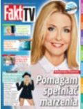Malgorzata Rozenek on the cover of Fakt TV (Poland) - September 2013