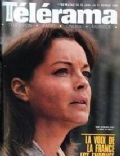 Romy Schneider on the cover of Telerama (France) - January 1980