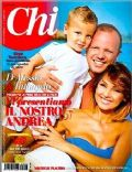 Anna Tatangelo on the cover of Chi (Italy) - August 2012