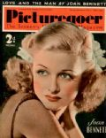 Joan Bennett on the cover of Picturegoer (United Kingdom) - July 1939
