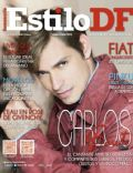 Carlos Baute on the cover of Estilo Df (Mexico) - July 2014