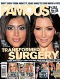 Kim Kardashian on the cover of Famous (Australia) - September 2010
