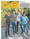 Joaquín Furriel, Luciano Cáceres, Luciano Castro, Peto Menahem on the cover of Pagina 12 (Argentina) - January 2014