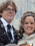 Kris Marshall and Hannah Dodkin