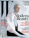 Tilda Swinton on the cover of W (United States) - May 2013