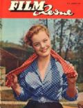 Romy Schneider on the cover of Film Revue (Germany) - July 1955