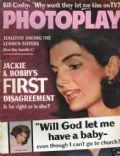 Jacqueline Kennedy on the cover of Photoplay (United States) - July 1966