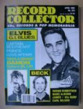 Elvis Presley on the cover of Record Collector (United Kingdom) - April 1998