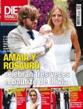 Amaia Salamanca, Rosauro Baro on the cover of Diez Minutos (Spain) - July 2014