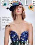 Karlie Kloss on the cover of The Sunday Times Style (United Kingdom) - March 2014
