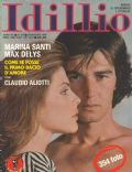 Marina Santi, Max Delys on the cover of Idillio (Italy) - November 1980
