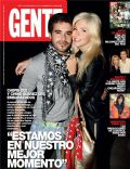 María Eugenia Suárez, Nicolás Cabré on the cover of Gente (Argentina) - December 2012