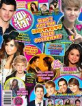 Booboo Stewart, Carlos Pena, Cody Simpson, Demi Lovato, James Maslow, Justin Bieber, Justin Bieber and Demi Lovato, Justin Bieber and Selena Gomez, Katy Perry, Kendall Schmidt, Logan Henderson, Logan Henderson and Victoria Justice, Robert Pattinson, Sarah Hyland, Selena Gomez, Taylor Lautner, Taylor Lautner and Selena Gomez, Victoria Justice, Victoria Justice and Taylor Lautner on the cover of Popstar (United States) - September 2011