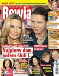 Malgorzata Rozenek, Radoslaw Majdan on the cover of Rewia (Poland) - April 2014