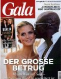 Heidi Klum, Seal on the cover of Gala (Germany) - January 2012