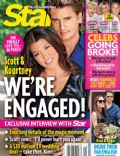 Kourtney Kardashian, Scott Disick on the cover of Star (United States) - December 2012