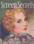Betty Compson on the cover of Screen Secrets (United States) - July 1929