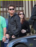 Ashley Greene and Jared Followill