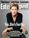 Ellen DeGeneres on the cover of Entertainment Weekly (United States) - May 1998