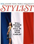 Carla Bruni on the cover of Stylist Magazine (United Kingdom) - July 2010