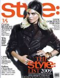 Anna Tunhav on the cover of Style (United States) - July 2009