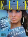Stephanie Seymour on the cover of Elle (France) - March 1987