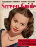 Jeanne Crain on the cover of Screen Guide (United States) - February 1950
