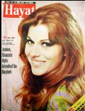 Maria Latour on the cover of Hayat (Turkey) - October 1970