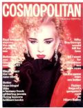 Boy George on the cover of Cosmopolitan (United Kingdom) - December 1984