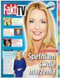 Malgorzata Rozenek on the cover of Fakt TV (Poland) - April 2014