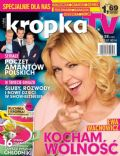 Ewa Wachowicz on the cover of Kropka TV (Poland) - July 2014